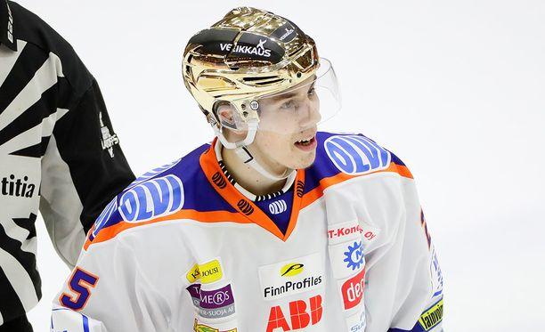 Henrik Haapala oli Tapparan kantavia voimia viime kaudella.