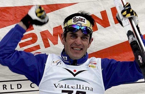 Italialaishiihtäjän komein saavutus on MM-kulta Oberstdorfista vuodelta 2005.
