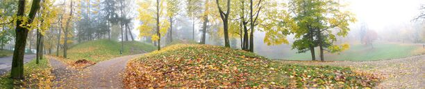 Toomäemäen puisto viehättää eri vuodenaikoina.