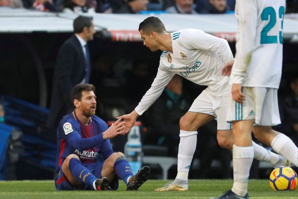 Leo Messillä ja Cristiano Ronaldolla pelissä on lähinnä vain mainetta ja kunniaa.