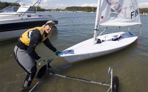 Sari Multalalta jäi olympiaregatta haaveeksi.