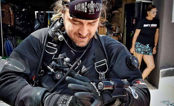 Mikko Paasi oli yksi sukeltajista, joka osallistui thaimaalaisten poikien pelastamiseen Tham Luangin luolasta.