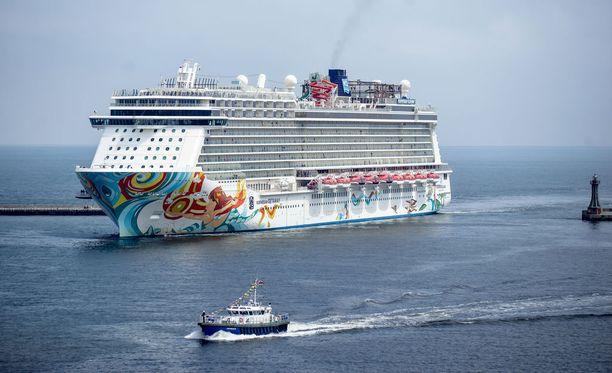 Norwegian Cruise Linen risteilijä.