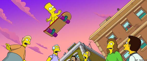 Bartin äänenä sarjassa kuullaan nyt 56-vuotiasta Nancy Cartwrightia.