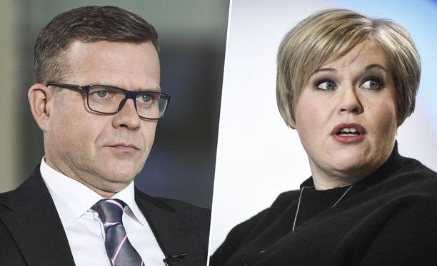 Perussuomalaisten kannatus on saanut muun muassa Petteri Orpon kokoomuksen ja Annika Saarikon keskustan hakemaan retoriikkaansa persuvaikutteita.