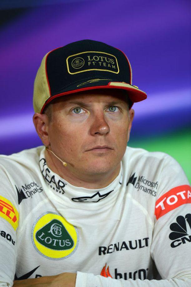 Kimi Räikkönen on tunnettu ytimekkäistä ja toisinaan ympäripyöreistä vastauksistaan.