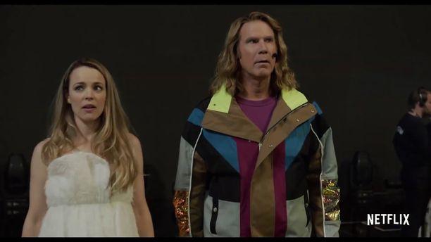 Rachel McAdams ja Will Ferrell esittävät tulevassa elokuvassa Islannin euroviisuedustajia.