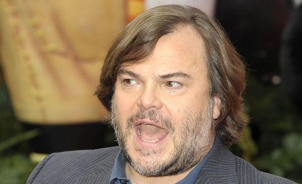 Näyttelijä Jack Black viihdytti ja ilahdutti lapsia lastensairaalassa Los Angelesissä.