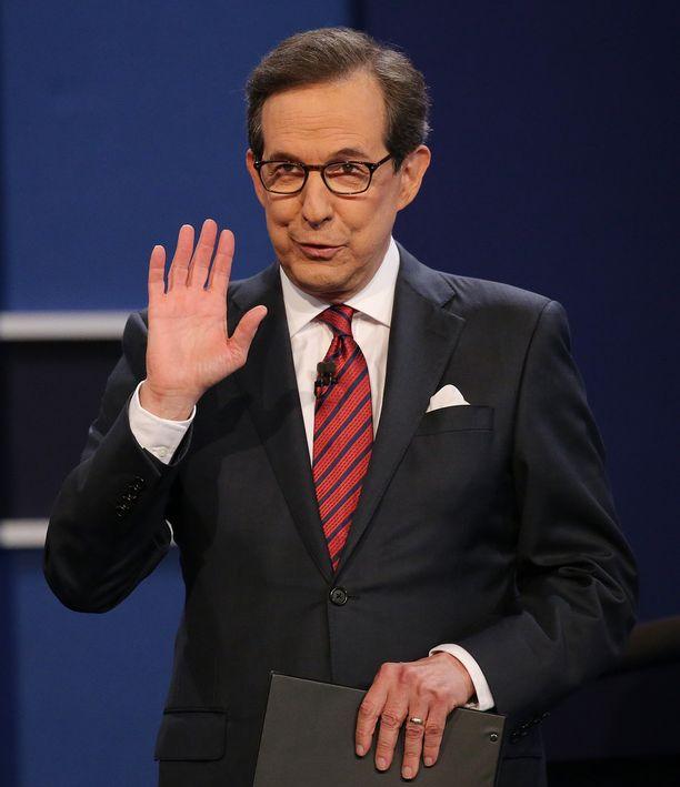 Chris Wallace on työskennellyt Foxilla uutisankkurina ja poliittisena kommentaattorina vuodesta 2003. Hän juonsi myös Clitonin ja Trumpin vaaliväittelyjä viime vuonna.