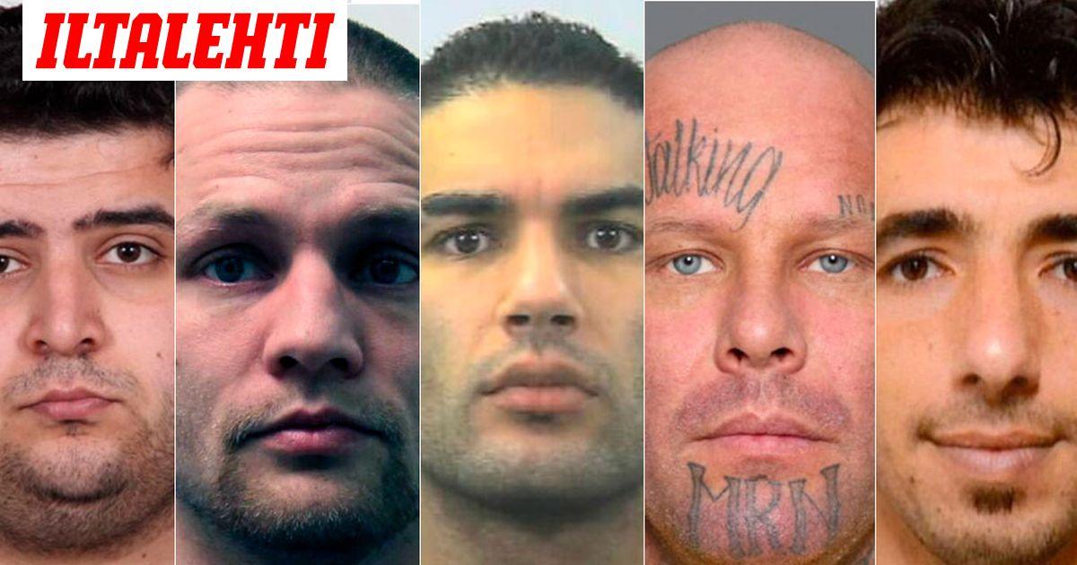Etsityimmät Rikolliset