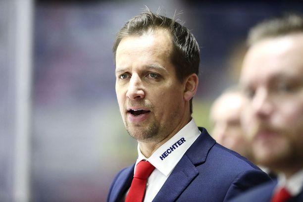 HIFK-valmentaja Antti Törmänen vakuuttaa joukkueensa tavoittelevan vain ja ainoastaan mestaruutta.