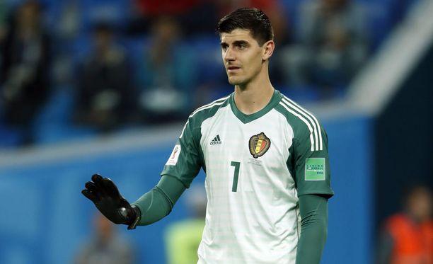 Maalivahti Thibaut Courtois ja koko Belgian joukkue joutuivat pettymään semifinaaliottelussa Ranskaa vastaan tiistaina illalla.