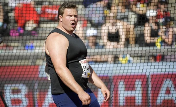 Daniel Ståhl laihtui yli 40 kiloa. Kuva tältä kaudelta.