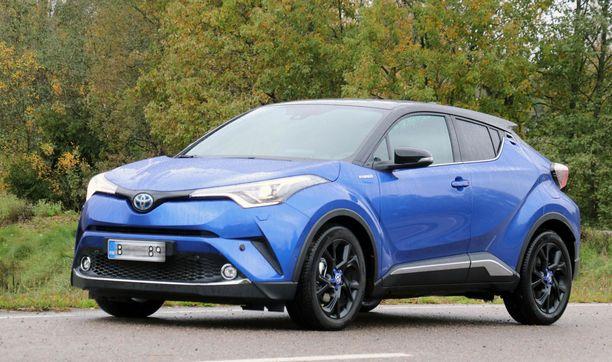 Toyotan suosikkimallin CH-R:n hinta laskee parhaimmillaan liki 900 eurolla.