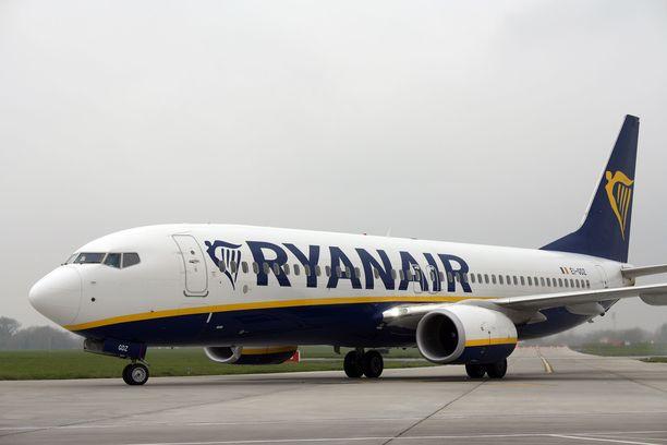Lappeenrannan lentokentän verkkosivujen mukaan Ryanair olisi lentämässä lauantaina 14.3. Milanoon. Kuvituskuva.