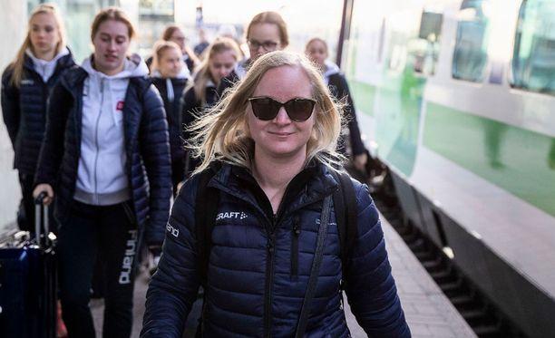 SUEK alkaa tutkia Titta Heikkilän valmennusmetodeja.