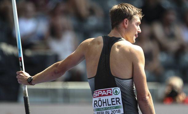 Thomas Röhler mokasi pahasti.
