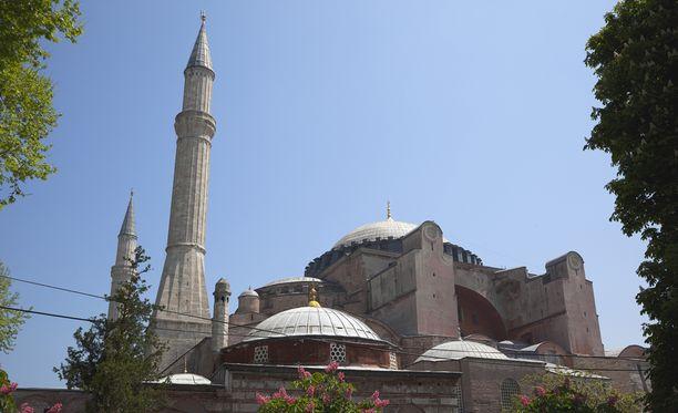 Hagia Sofia on toiminut museona vuosikymmeniä.