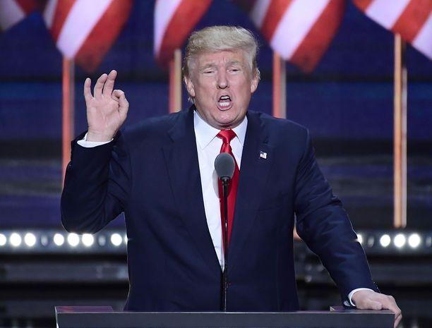 Republikaanien presidenttiehdokas Donald Trump on soitellut tilaisuuksissaan musiikkia ilman tekijöiden suostumusta.