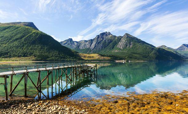 Pohjois-Norja on lumoavan kaunis.