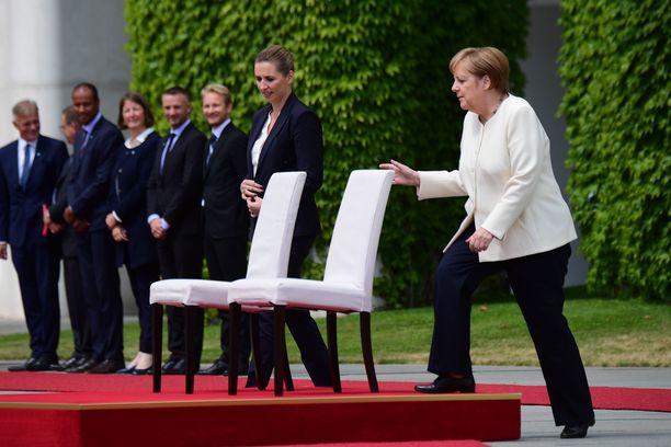 Saksan liittokansleri Angela Merkel ja Tanskan pääministeri Mette Frederiksen ovat tapaamassa tänään Berliinissä myös kahdenkeskeisten neuvottelujen merkeissä.