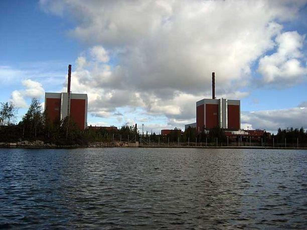 Olkiluodon ydinvoimala.