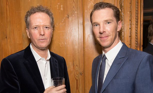 Edward St Aubyn ja Benedict Cumberbatch kuvattuna Lontoossa viime viikolla.