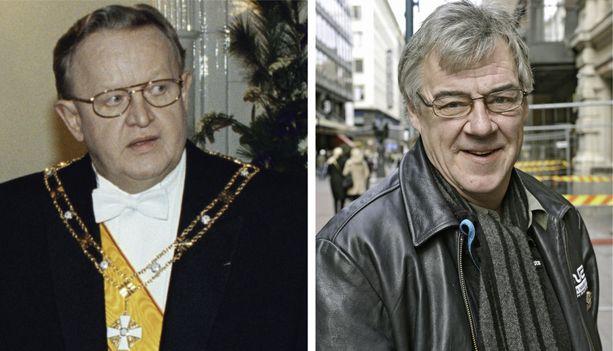 Aake Kalliala sai presidentinkansliasta moitteet Martti Ahtisaaren imitoinnista. – Se oli sellainen viesti, että siihen loppui Ahtisaaren imitointi.