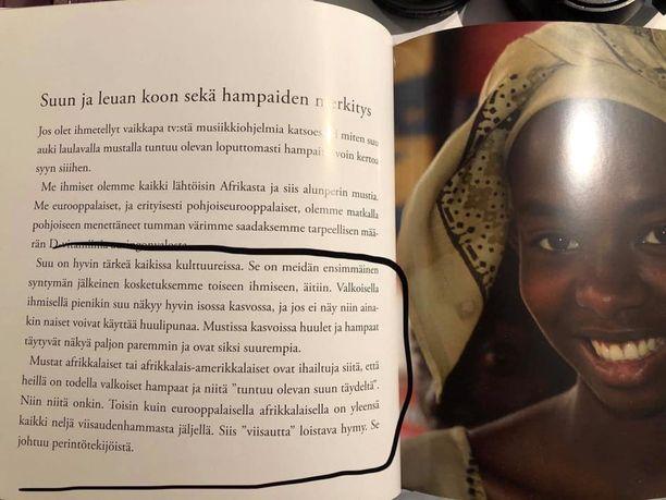 """Kuva on otettu Martti Lintusen ja Minna Kaisanlahden kirjasta """"Miksi hampaat pitää pestä?"""" sivulta 32."""