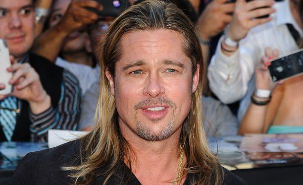 Tässä lookissa Brad Pitt on totuttu näkemään viime vuosina.