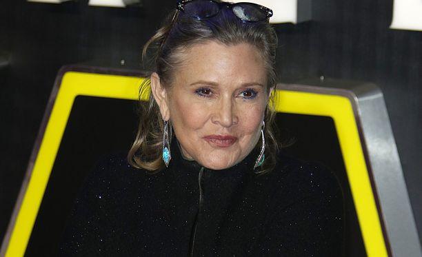 Carrie Fisher kuoli vuosi sitten.