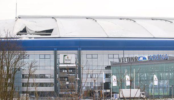 Schalken on määrä kohdata sunnuntaina kuvassa olevalla areenalla Nürnberg.