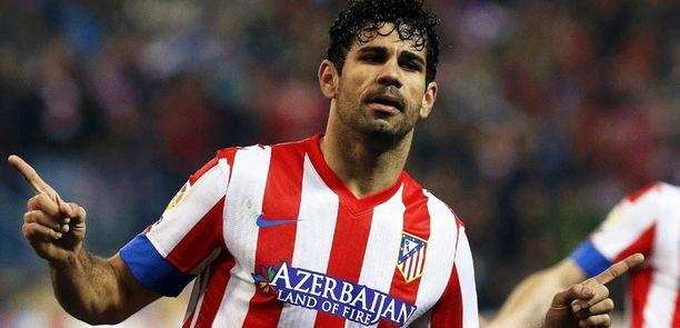 Diego Costa pelaa MM-kisoissa Espanjan joukkueessa.