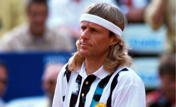 Björn Borgin paluuyritelmä vuosina 1991-93 ei ollut kaunista katsottavaa.