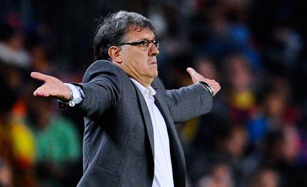 Tata Martino valmensi Barcelonaa vain yhden kauden.