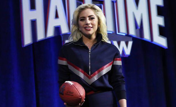 Lady Gaga esiintyy tämän vuoden Super Bowlissa.