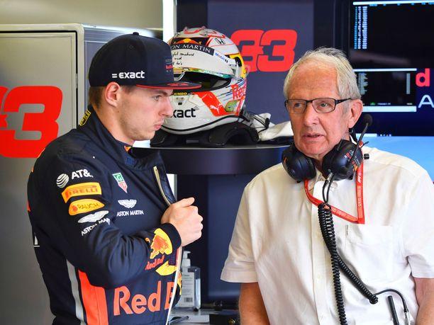 Helmut Markon mukaan Max Verstappenilla on edellytykset nousta tällä kaudella F1-historian nuorimmaksi maailmanmestariksi.