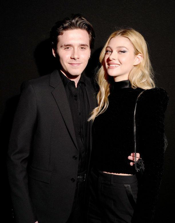 Brooklyn ja Nicola edustivat yhdessä viime viikolla.