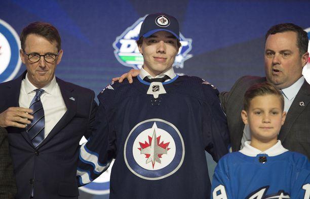 Ville Heinola on Winnipeg Jetsin ykkösvaraus viime kesältä.