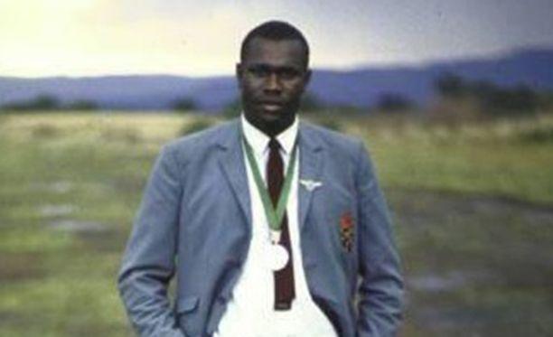 Daniel Rudisha juoksi olympiahopeaa Meksikossa vuonna 1968.