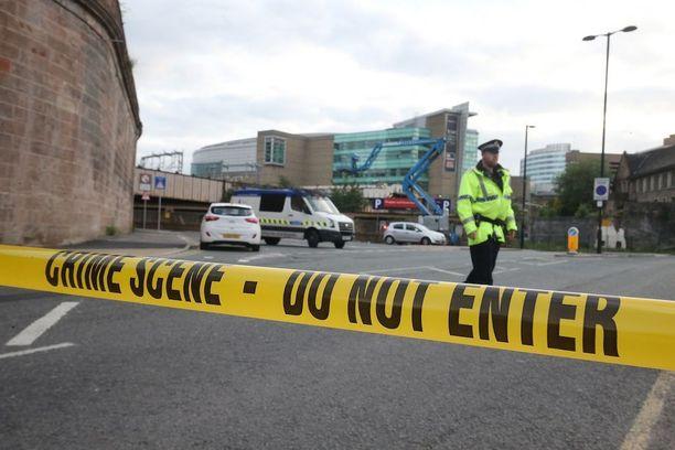 Manchester Arena eristettiin iskun jälkeen.