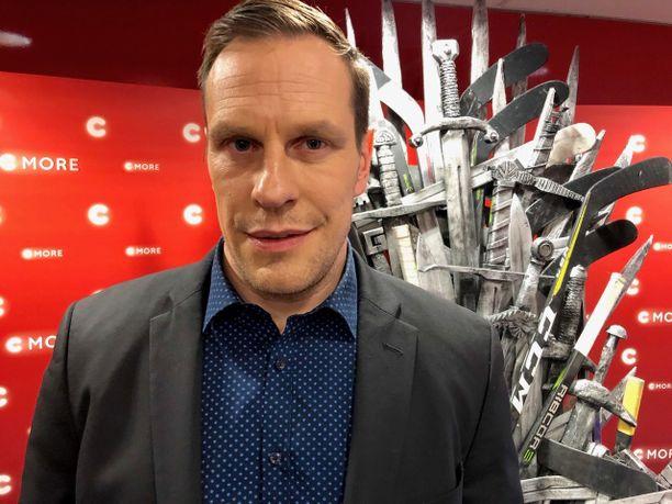 Ville Nieminen toimii asiantuntijana C Moren MM-kisatiimissä.