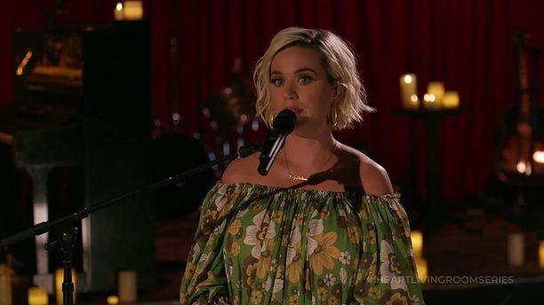 Katy Perryn raskaus on loppupuolella.