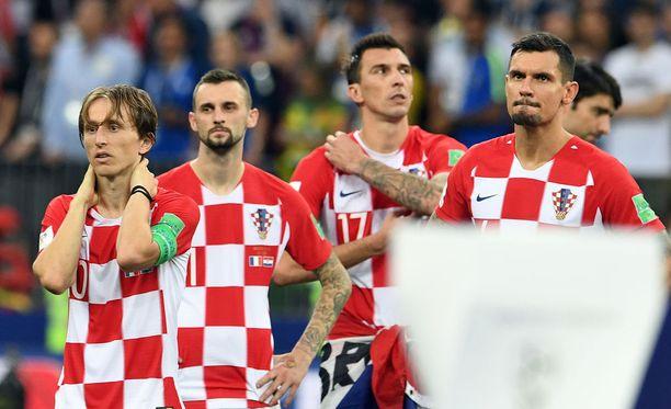 Kroatian pelaajat kokivat MM-finaalissa musertavan pettymyksen, mutta käsittelivät sen esimerkillisellä tavalla.