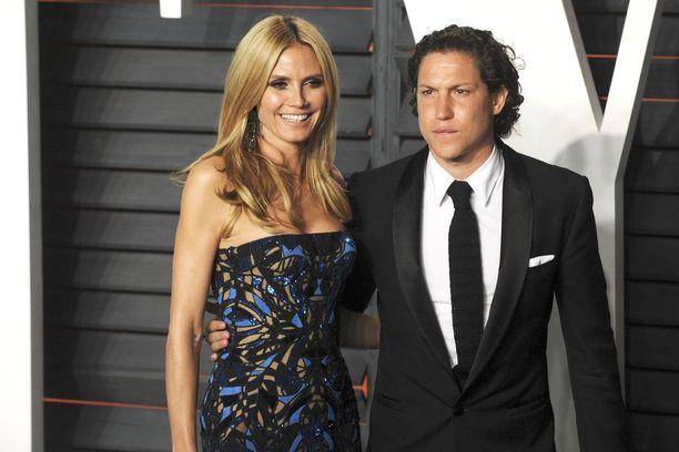 Heidi Klum ja Vito Schnabel alkoivat seurustella vuonna 2014.
