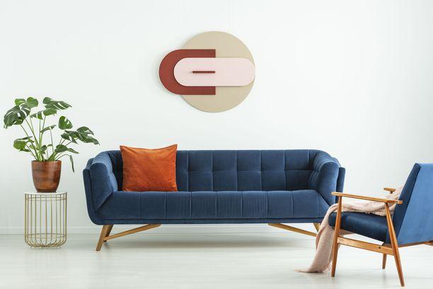 Uusissa huonekaluissa on inspiroiduttu vuosisadan puolivälin trendeistä.