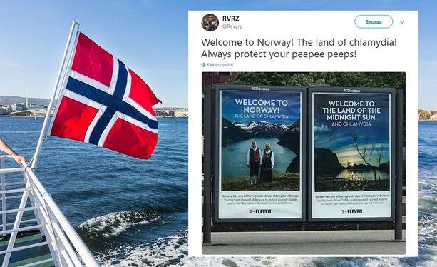 Norja, tuo öljyn, vuonojen ja klamydiatartuntojen maa!