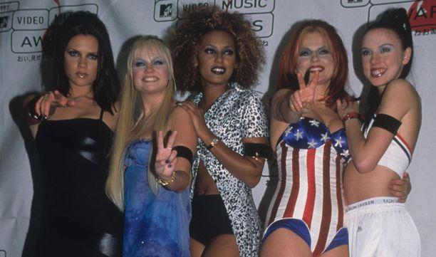 Spice Girls saavutti huippusuosion 90-luvulla.
