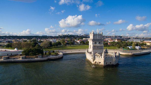 Belémin torni rakennettiin Vasco da Gaman Intian-matkan kunniaksi 1500-luvulla. Se kuuluu Unescon maailmanperintökohteiden listalle.