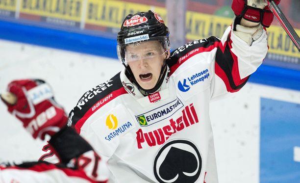 Severi Sillanpään ura Jokereissä jäi lyhyeksi.